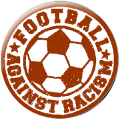 Football Against Racism (Button)