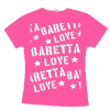 Baretta Love/ Logo Girly pink