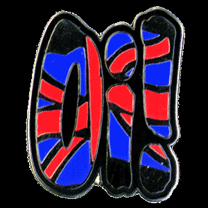 Oi! Union Jack (Pin)