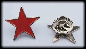 Red Star (Pin)