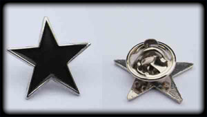 Black Star (Pin)