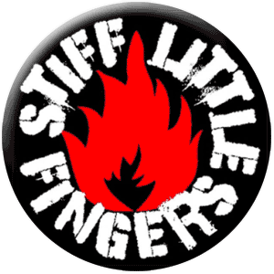 Stiff Little Fingers (Button)