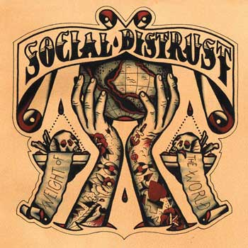 Social Distrust - Weight Of The World DigiCD