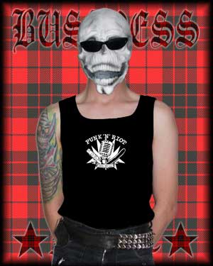 "Achselshirt Men ""Punk N Riot"""