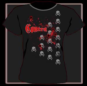 "Girly Contra ""Bloody Skulls"""