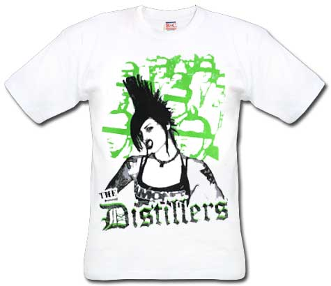 Distillers, The/ Weiß T-Shirt
