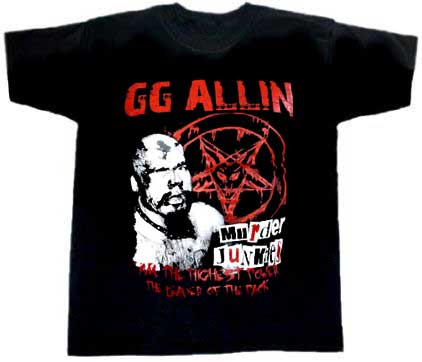 GG Allin/ The Leader Of The Pack T-Shirt