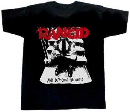 Rancid/ And Out Come The Wolves (black) T-Shirt