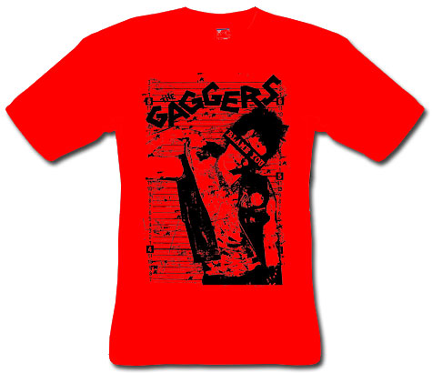 Gaggers, The/ Blame You (red) T-Shirt