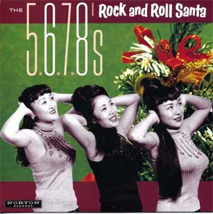 5.6.7.8´s, The - Rock And Roll Santa EP