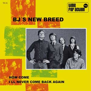 BJ´s New Breed - How Come EP