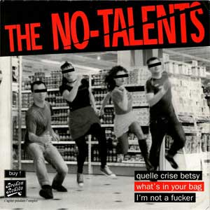 No Talents, The - I´m Not A Fucker EP
