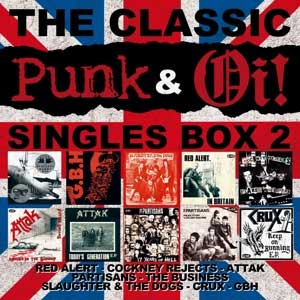 V/A - The Classic Punk & Oi! Singles Box 2