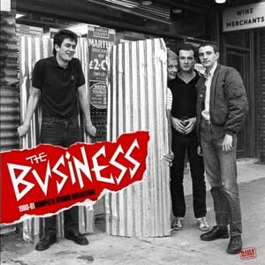 Business, The - 1980-81 Complete Studio Collection LP