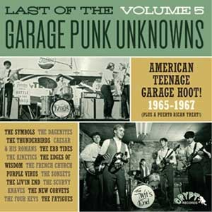 V/A - Garage Punk Unknowns Vol. 5 LP