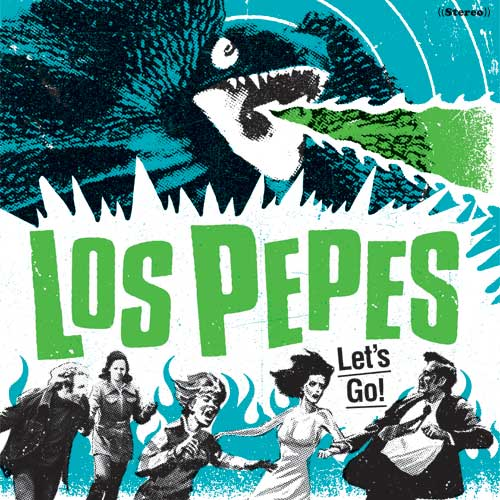 Los Pepes - Let´s Go LP (limited)