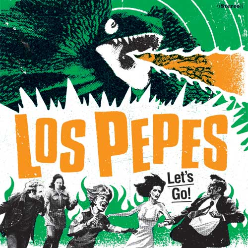 Los Pepes - Let´s Go LP (TP)