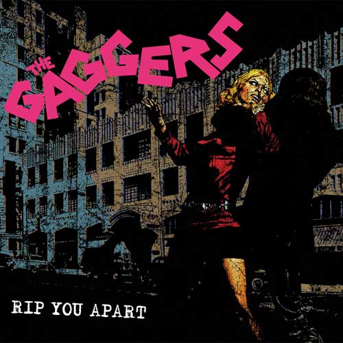 Gaggers, The - Rip You Apart col. LP