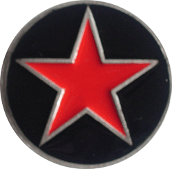 Buckle Red Star/ Black