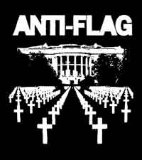 Anti Flag - Kreuze (Druck)