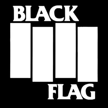Black Flag - Logo (Druck)