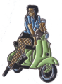 Scootergirl (Pin)