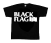 Black Flag/ Logo T-Shirt