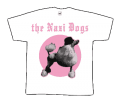 Nazi Dogs, The/ Pudel weiss T-Shirt