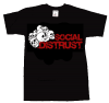 Social Distrust/ Skulls T-Shirt