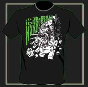 "T - Shirt Contra ""Horrorbilly"" - Click Image to Close"