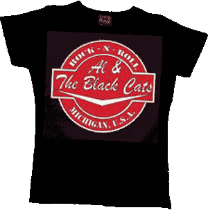 Al & The Black Cats/ Logo Girly - Click Image to Close