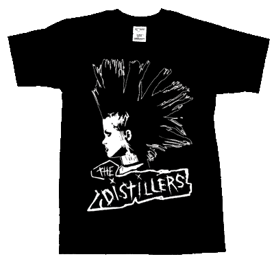 Distillers, The/ Brody - T-Shirt - Click Image to Close