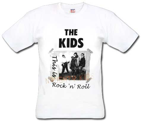 Kids, The/ Naughty Kids T-Shirt - Click Image to Close