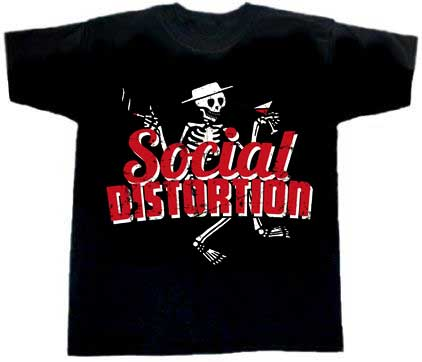 Social Distortion/ Skelett T-Shirt - Click Image to Close