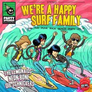 V/A - We´re A Happy Surf Family EP - Click Image to Close