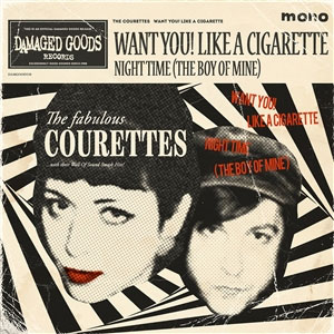 Courettes, The - Want You! Like A Cigarette EP - Click Image to Close