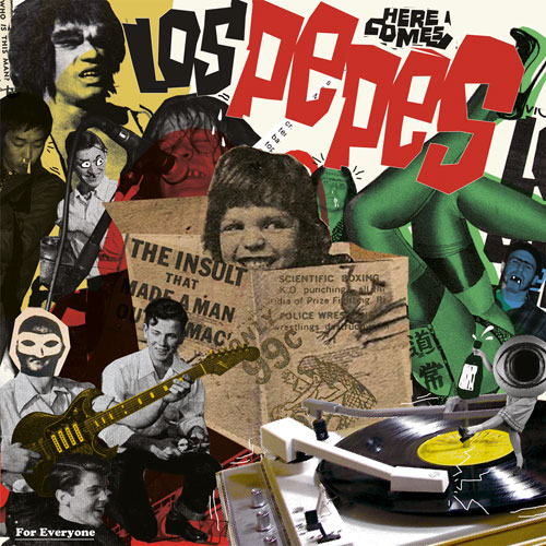 Los Pepes - Los Pepes For Everyone LP - Click Image to Close