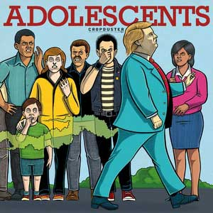 Adolescents - Cropduster LP - Click Image to Close
