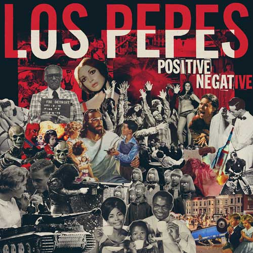Los Pepes - Positive Negative col LP - Click Image to Close