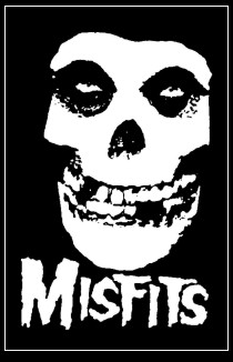 Misfits - Skull / Schrift - Click Image to Close
