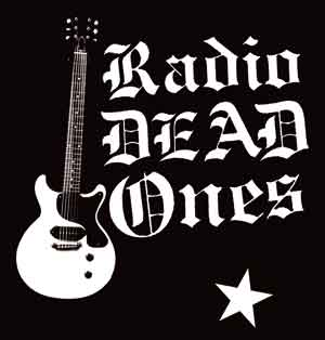 Radio Dead Ones s/w (gestickt) - Click Image to Close