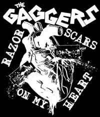 Gaggers, The - Razor Scars (Druck) - Click Image to Close